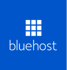 Bluehost web hosting logo