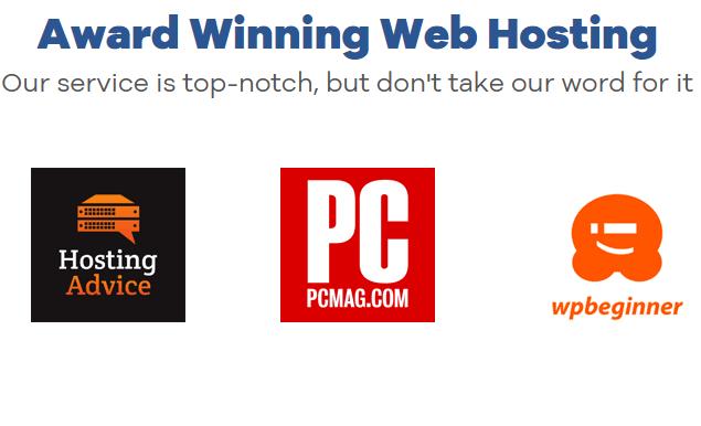 HostGator award winning web hosting service