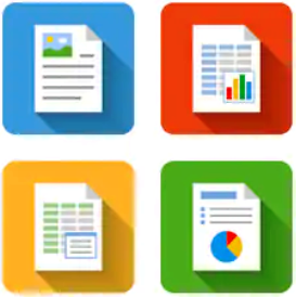 G Suite create documents, spreadsheets, and presentations