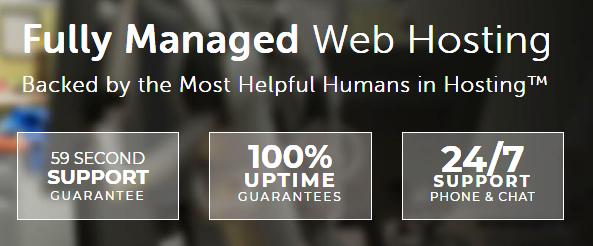 Liquid Web fully managed web hosting