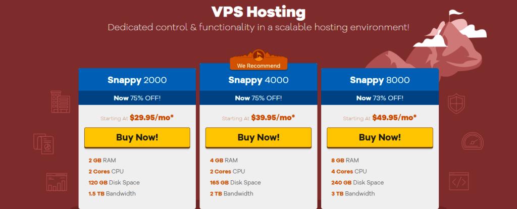 HostGator VPS web hosting packages